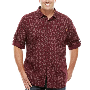 jcpenney.com | Buffalo Mikele Short-Sleeve Woven Tee - Big & Tall