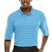 Haggar® Short-Sleeve Striped Polo - Big & Tall