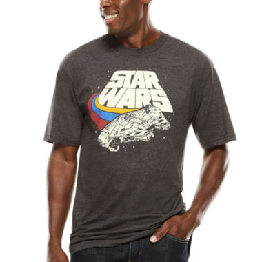jcpenney.com | Star Wars™ Darth Vader Short-Sleeve Graphic Tee - Big & Tall