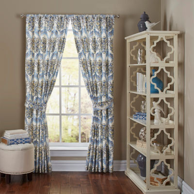 Waverly Over the Moon Rod-Pocket Curtain Panel