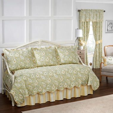 jcpenney.com | Waverly Paisley Verveine 5-pc. Floral Daybed Cover Set
