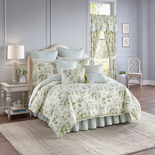 Waverly Fleuretta 4-pc. Reversible Comforter Set