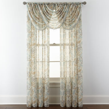 jcpenney.com | Royal Velvet® Villa Rod-Pocket Window Treatments