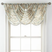 Royal Velvet® Villa Rod-Pocket Waterfall Valance