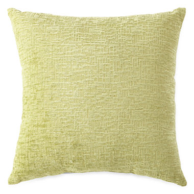 Jcpenney Red Decorative Pillows : JCPenney Home Oversized Chenille Decorative Pillow - JCPenney
