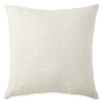 JCPenney Home Oversized Chenille Decorative Pillow - JCPenney