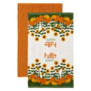 JCPenney Home™ Hello Autumn Set of 2 Kitchen Towels