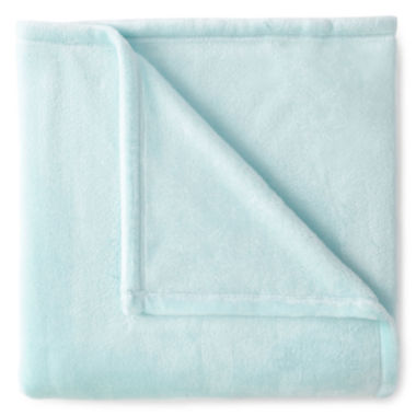 jcpenney.com | JCPenney Home™ Velvet Plush Solid Throw