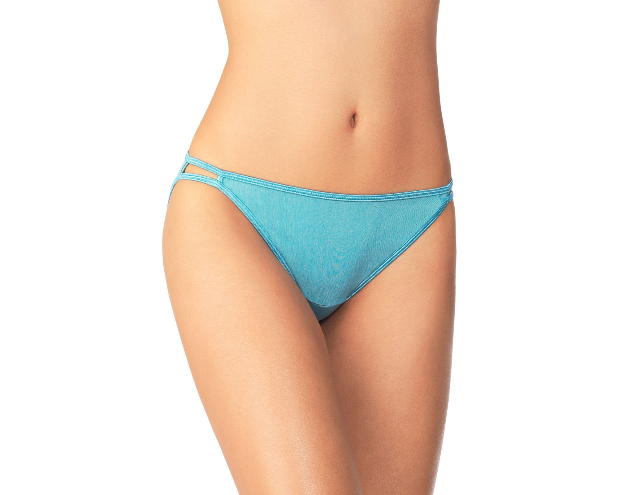 UPC 083626006083 Product Image For 3 Vanity Fair Illumination String Bikini  Style 18108 Size 6 Teal