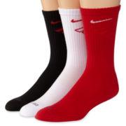 Nike® 3-pk. Dri-FIT® Fly Crew Socks