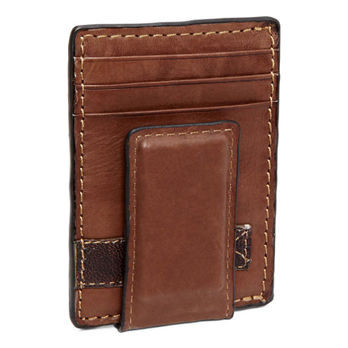 Relic® Barea Leather Front-Pocket Wallet with Money Clip
