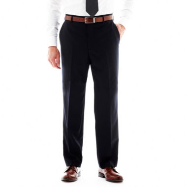 jcpenney.com | Stafford® Travel Flat-Front Suit Pants - Classic