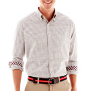 Stafford Prep® Middlebury Tattersall Woven Shirt