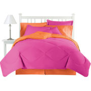 jcp home™ Cotton Reversible Hot Rose Comforter