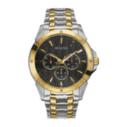 Bulova® Mens Two-Tone Stainless Steel Watch