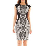Trulli Sleeveless Embellished Dress