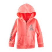 OshKosh B'gosh® Long Sleeve Hoodie - Girls 2t-4t