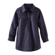 OshKosh B'Gosh® Long-Sleeve Heart Dot Tunic - Toddler Girls 2t-4t