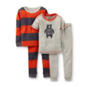 Carter's® 4-pc. Bear Pajama Set – Boys 6m-24m