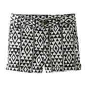 Carter's® Geo Print Woven Shorts – Girls 5-6x