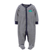 Carter's® Sleep and Play Footed Dino Bodysuit – Boys newborn-9m