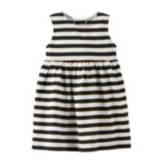 Carter's® Sleeveless Striped Knit Dress – Girls newborn-24m