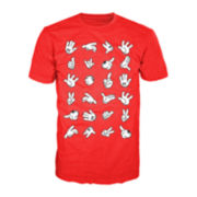 Cartoon Hands Graphic Tee
