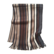 JF J. Ferrar® Multi-Striped Raschel Scarf