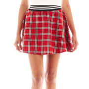 Almost Famous Plaid Skater Skirt