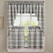 Dawson Rod-Pocket Kitchen Curtains