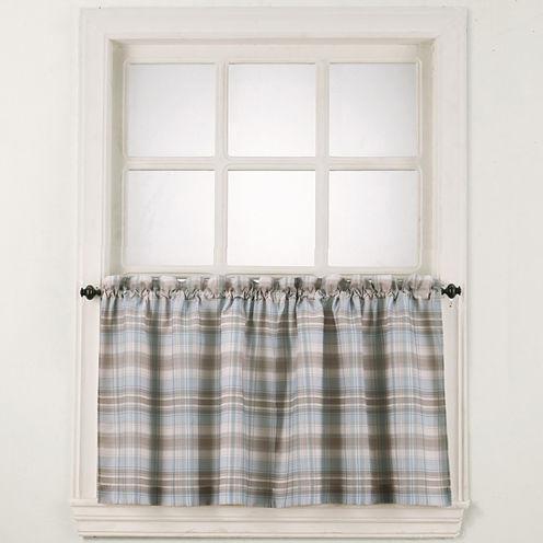 Dawson Rod-Pocket Window Tiers