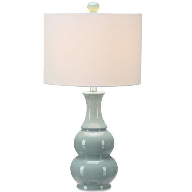 jcpenney.com | JCPenney Home™ Green Double Gourd Table Lamp