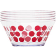 Zak Designs® Dot Dot Set of 6 Serving Bowls
