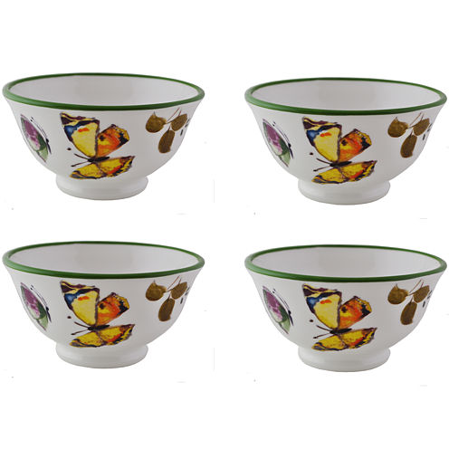 Abbiamo Tutto Butterfly Set of 4 Bowls