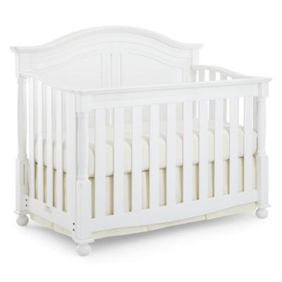 Bedford Baby Monterey Convertible Crib White Flipvine