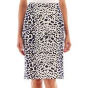 Worthington® Print Pencil Skirt