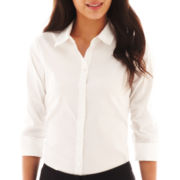 Worthington® Essential 3/4-Sleeve Shirt