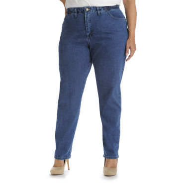 jcpenney.com | Lee® Side-Elastic Jeans - Plus