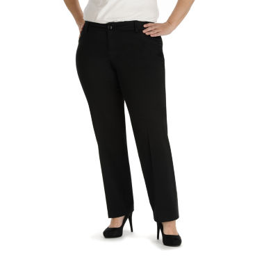 jcpenney.com | Lee® Modern Series Curvy Fit Twill Trouser Pants - Plus