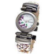 Decree® Fashion Floral Bangle Watch