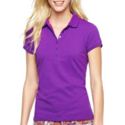 jcp™ Short-Sleeve Polo Shirt