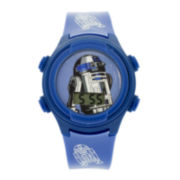 Star Wars® R2-D2 Kids Blue Strap Digital Watch