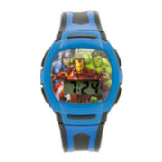 Avengers Kids Blue Strap Digital Watch