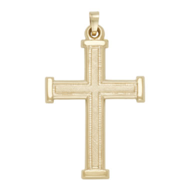jcpenney.com | 14K Yellow Gold Cross Pendant
