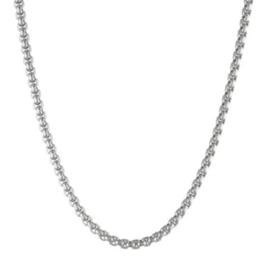 "jcpenney.com | Mens Stainless Steel 18"" 4mm Box Chain"