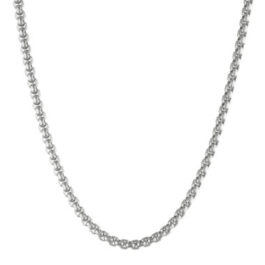"jcpenney.com | Mens Stainless Steel 30"" 4mm Box Chain"