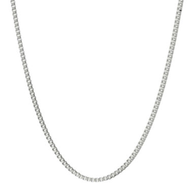 "jcpenney.com | Mens Stainless Steel 18"" 2mm Box Chain"
