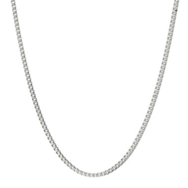 "jcpenney.com | Mens Stainless Steel 24"" 2mm Box Chain"