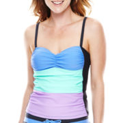 Free Country® Colorblock Tankini Swim Top