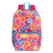 Confetti Hard Candy-Print Backpack and Lunchbox